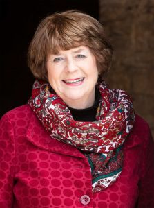 Pam Ayres Outside