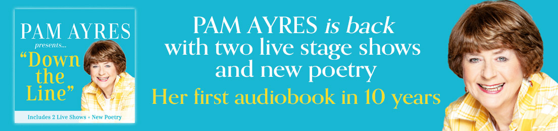 Pam Ayres Down the Line Banner Image